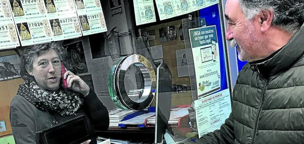Un 'quinto' deja en Haro un pellizco de 60.000 euros