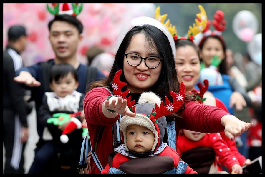 La Navidad llega también a Vietnam