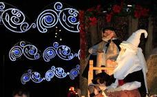 Olentzero pone la magia de la Navidad
