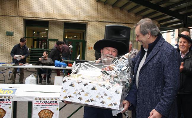 Getxo vence en el certamen de caracoles de Euskadi