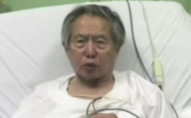 Tras ser indultado, Fujimori pide «perdón»