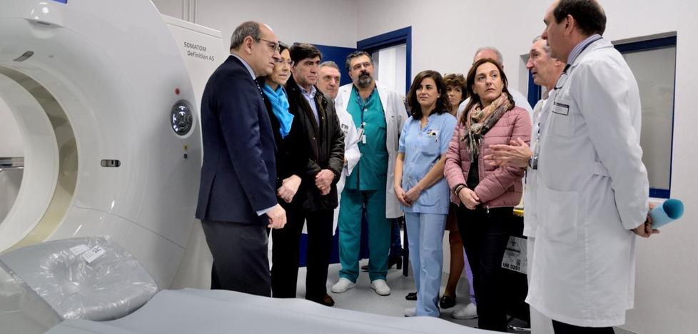 El nuevo escáner del hospital de Galdakao hará 9.000 pruebas al año