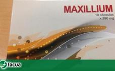 Retiran del mercado Maxillium, un conocido complemento alimenticio