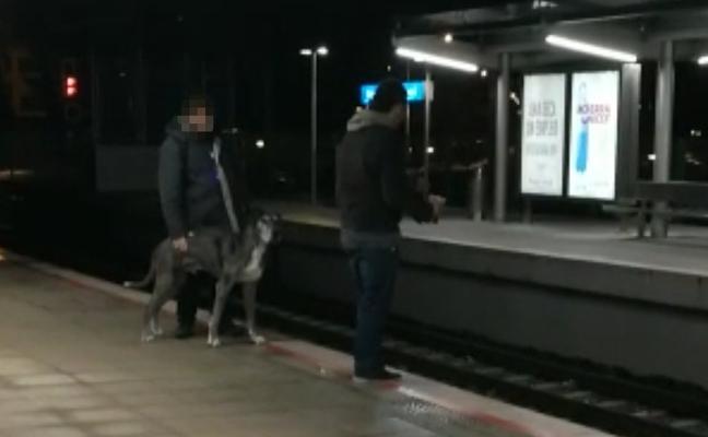 Agrede a un vigilante del metro en la estación de Etxebarri