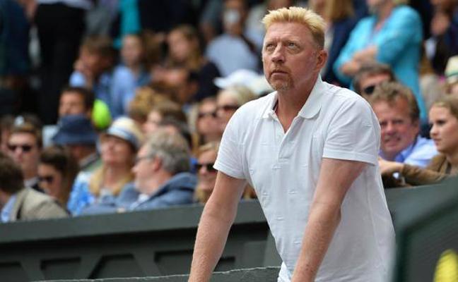 Boris Becker entregó una raqueta falsa en un programa benéfico