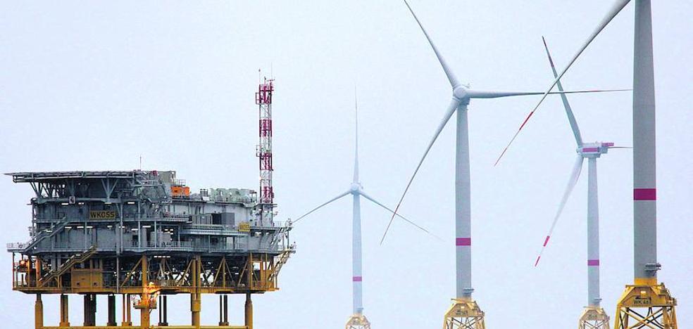 Iberdrola pone en marcha el parque eólico que ha construido en aguas de Alemania