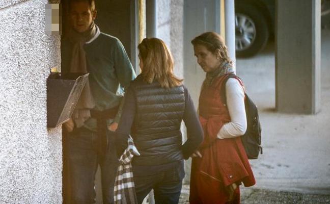 Los Urdangarin y la infanta Elena vuelven a Vitoria para despedir el año