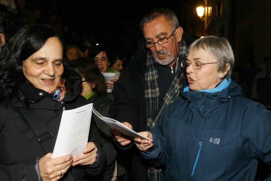 La Cirila pone voz a la Nochevieja de Vitoria