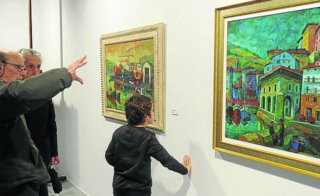 José Ibarrola y Azpilicueta, entre las exposiciones de Portalea para 2018