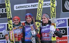 El polaco Stoch vuelve a triunfar en los tradicionales saltos de Garmisch