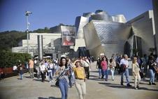 Un año de récord de visitantes para el Guggenheim y el Bellas Artes