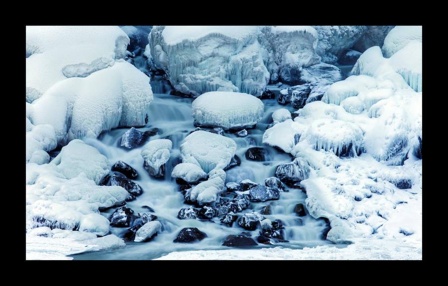Fotos: Las cataratas del Niágara, heladas