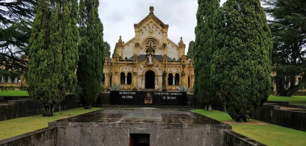 Hay una cripta en Bilbao