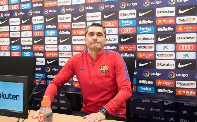 Valverde: «El Celta es uno de los peores rivales que nos podíamos encontrar»