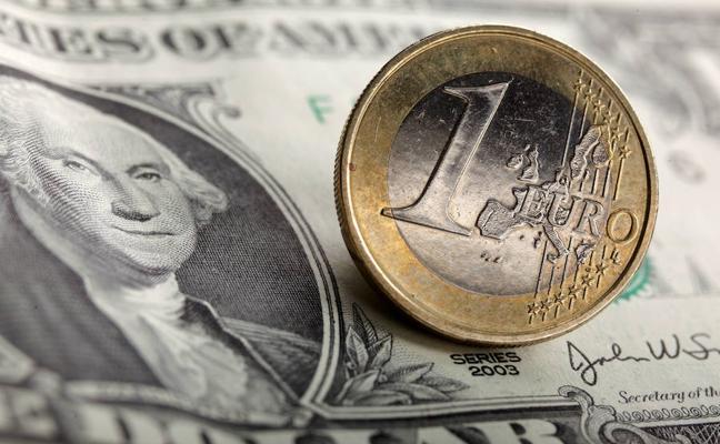 El euro apunta este año por encima de los 1,24 dólares