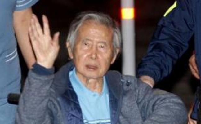 Fujimori pasa su primera noche en libertad en una lujosa casa de Lima