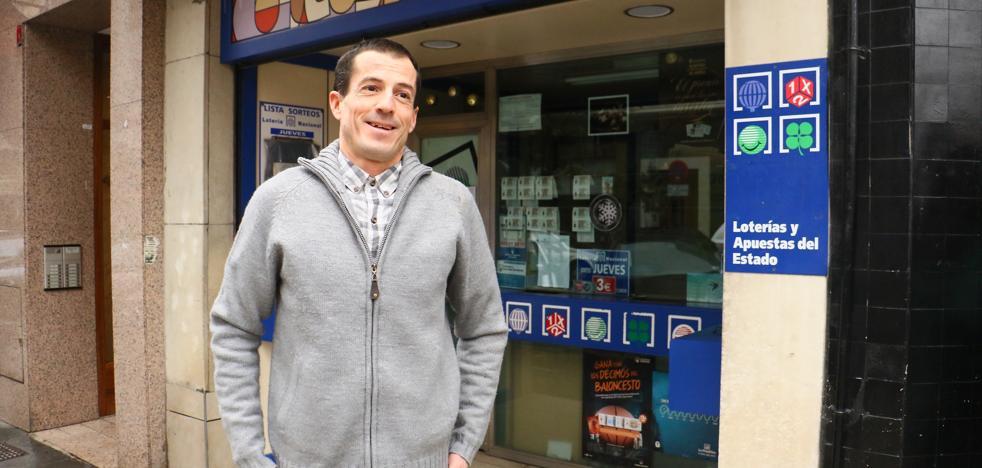 Un pellizco del segundo premio de 'El Niño' cae en Vitoria