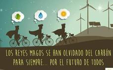 La campaña de Iberdrola de 'carbón ni en Reyes' enfada en Asturias