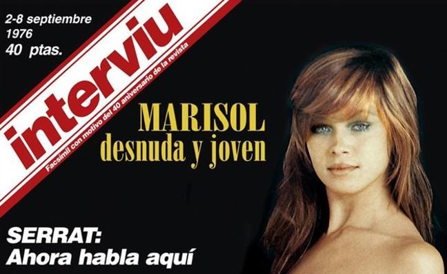 Interviú se despide con el desnudo de Marisol