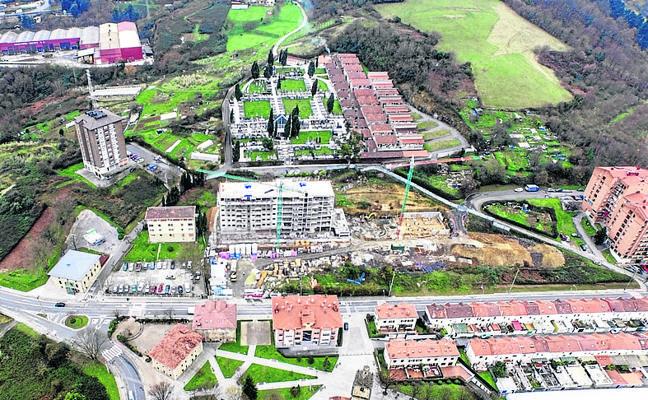 Basauri avanza en la rehabilitación de San Miguel