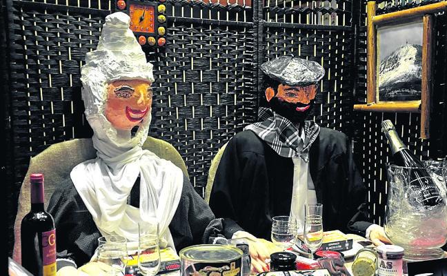 La Panadería Ortega logra el primer premio del concurso de escaparates de Orduña