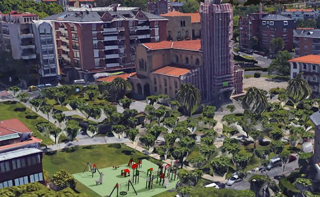 Modernizan el parque infantil de San Ignacio en Algorta