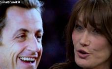 Así fue el 'flechazo' de Carla Bruni y Sarkozy