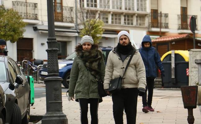 Iturrieta pasa la noche a 12,4 grados bajo cero