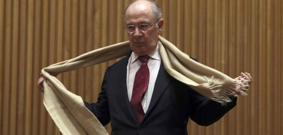 Rato acusa a De Guindos de beneficiar a la competencia con el rescate de Bankia