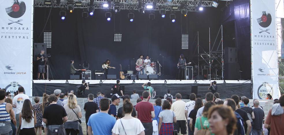Mundaka apuesta por mantener su festival de verano en Santa Catalina