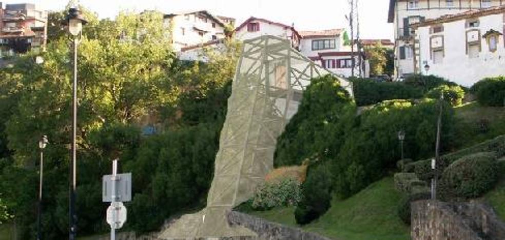 Arrancan las obras del ascensor panorámico del Puerto Viejo de Algorta