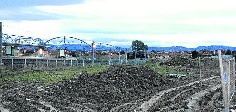 El Gobierno vasco retoma las obras del parking de Ibarbengoa tras reforzar la seguridad