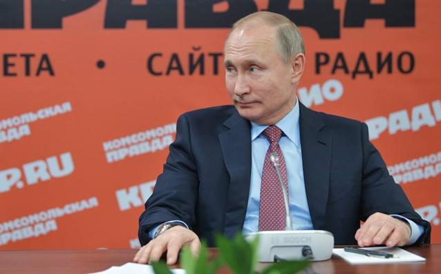 Putin aprovecha un encuentro con directores de medios para arremeter otra vez contra EE UU