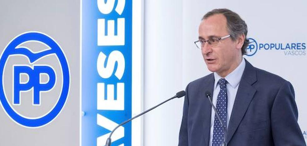 El PP no ve «viabilidad» a la iniciativa de consulta planteada por Urkullu