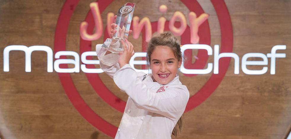 Esther, la ganadora de 'MasterChef Junior 5': «Soy feliz cuando me pongo el delantal»