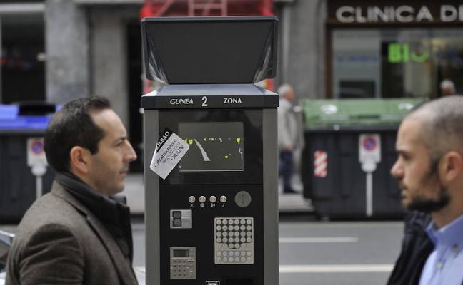 La concesionaria de la OTA de Bilbao cifra en 200.000 euros el coste del destrozo de parquímetros