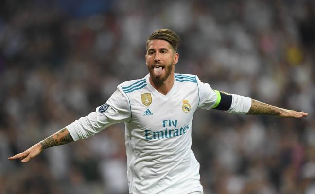 Sergio Ramos, único español y el más votado en el equipo ideal de la UEFA
