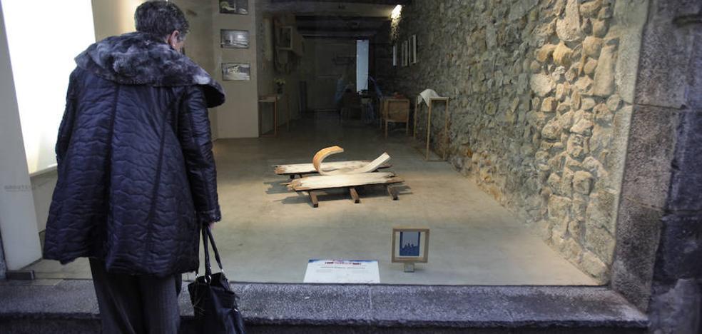 El markinarra Arriaga repite como ganador del escaparate más creativo de Bizkaia