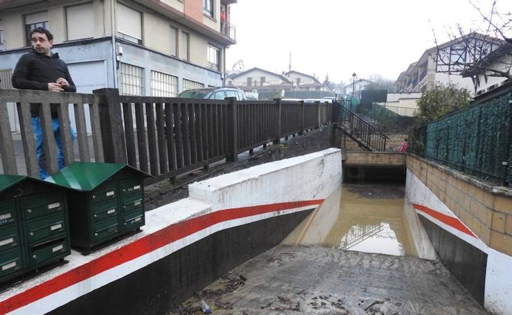 Fotos de las inundaciones en 2018: Muxika, el día después del diluvio
