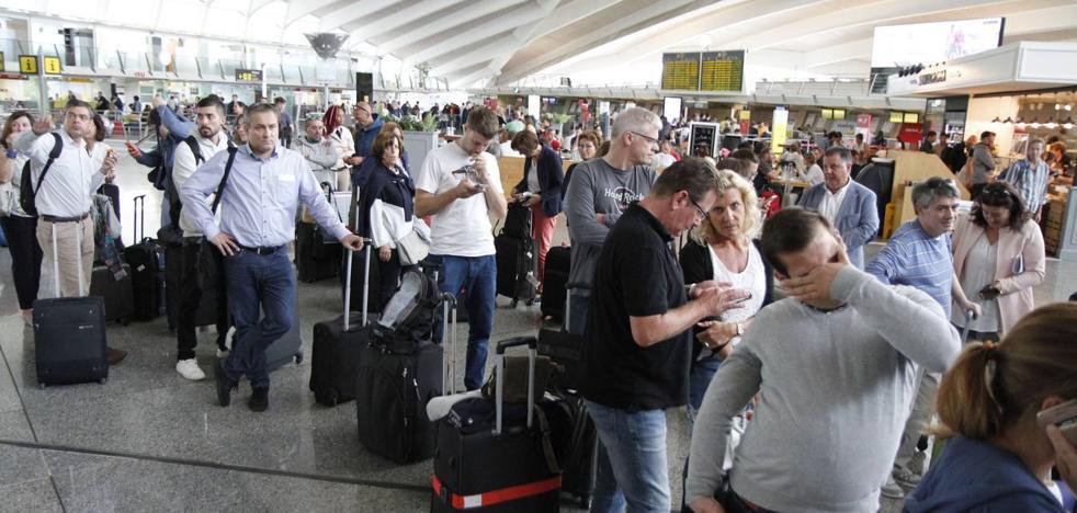 4.973.712 viajeros, nuevo récord del aeropuerto de Bilbao