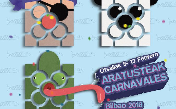 BIlbao elige los carteles finalistas de carnaval 2018