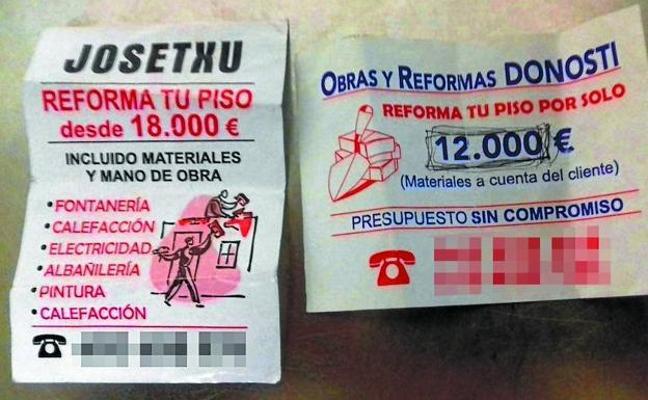 Arrestan a un falso 'chapuzas' en Gipuzkoa que podría haber actuado en Bizkaia