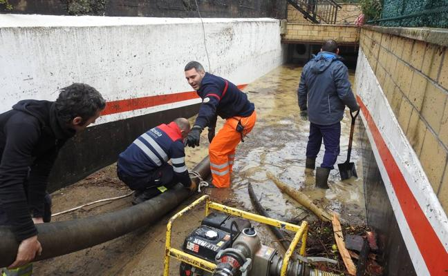 «No hubo alerta porque ningún modelo meteorológico pronosticó lluvias intensas», admite Euskalmet