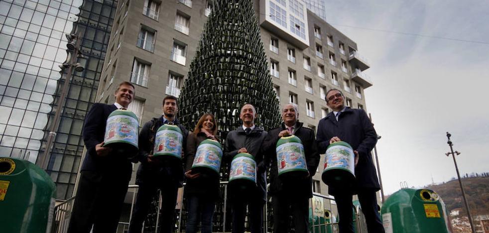 La campaña de reciclaje de vidrio culmina con 2.820 toneladas recogidas