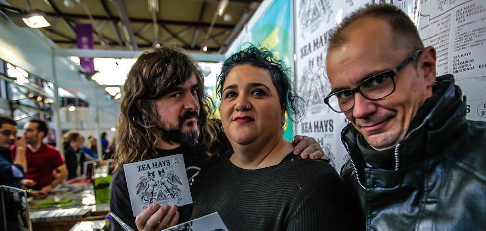 La cantante de Zea Mays protagonizará el 'txotx' de la sidra en Bizkaia