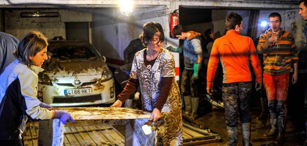 Comienza la petición de ayudas por la riada de Muxika