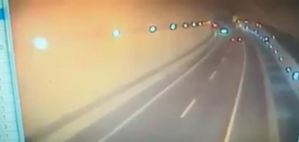 Así iba el conductor suicida por la A-8 antes de chocar contra el joven matrimonio en Cantabria