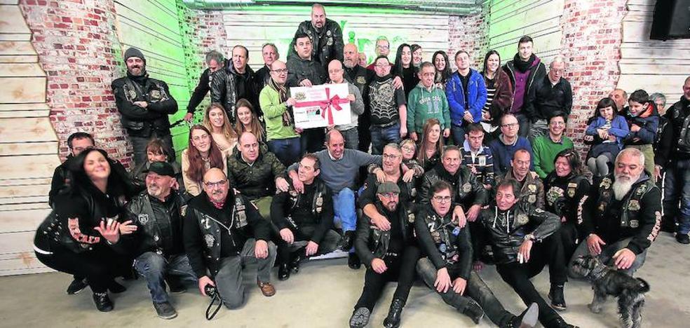 5.100 euros de solidaridad motera para Gorabide