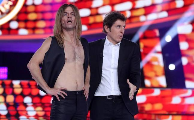 Jordi Coll asombra imitando a Iggy Pop