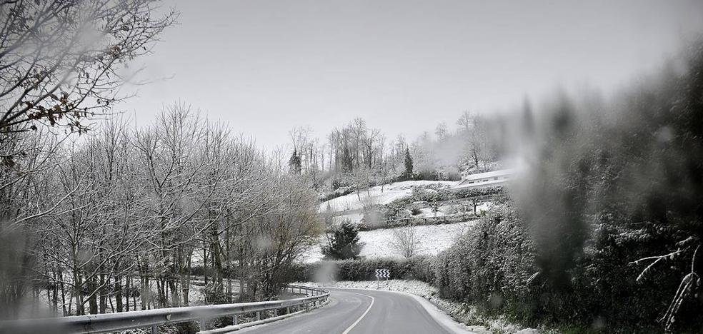 Activado el aviso amarillo por nieve en Euskadi hasta el domingo a la tarde